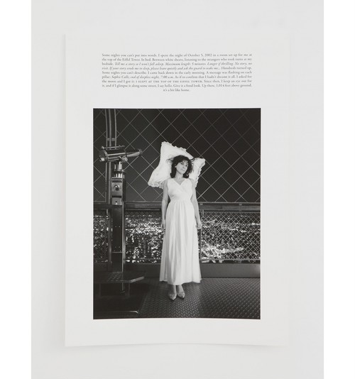 Sophie Calle - Room with a view