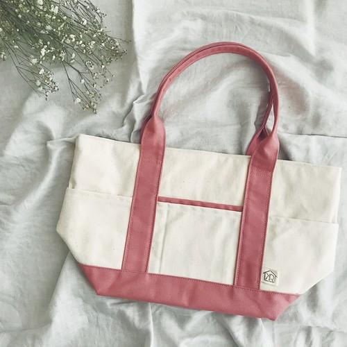 帆布トートM  ピンク