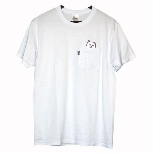 RIP N DIP/リップンディップ/catロゴ/Tシャツ/ホワイト