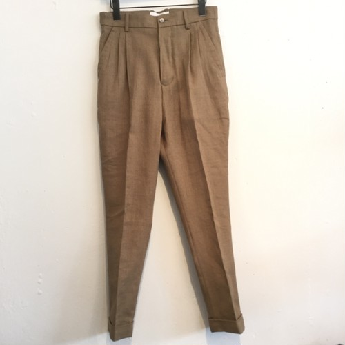 【UNITUS】Peg Top Pants