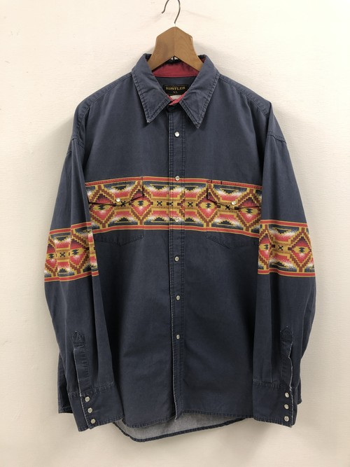 Wrangler Native Pattern Western Shirt