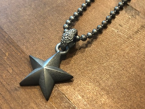JNT-10A NAUTICAL STAR NECKTOP &  JBC-30-50(50cm) ALL BLACK CUSTOM / JANGO