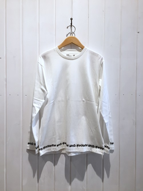 【SALE 30%OFF】White Mountaineering HEM PRINTED LONG SLEEVE PULLOVER