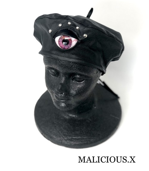 eye  beret / pink
