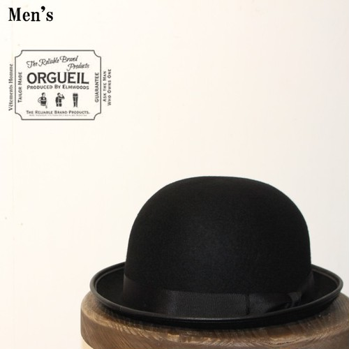 ORGUEIL/オルゲイユ  Bowler Hat(BLACK) OR-7027 【Men's】
