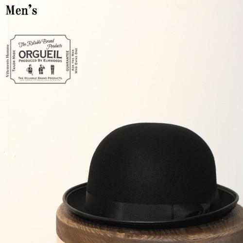 ORGUEIL/オルゲイユ  Bowler Hat(BLACK) OR-7027 【Men's】