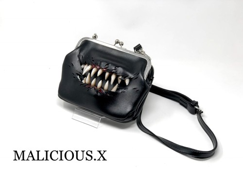 creature shoulder metal clasp bag