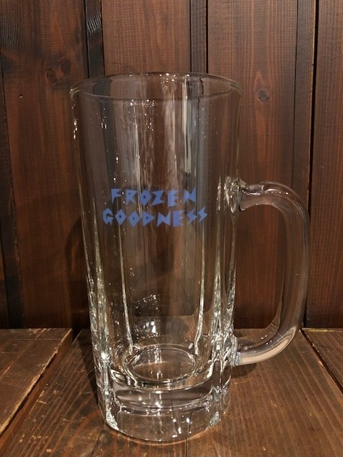 """FROZEN GOODNESS BLUE"" BEER BIG MUG"