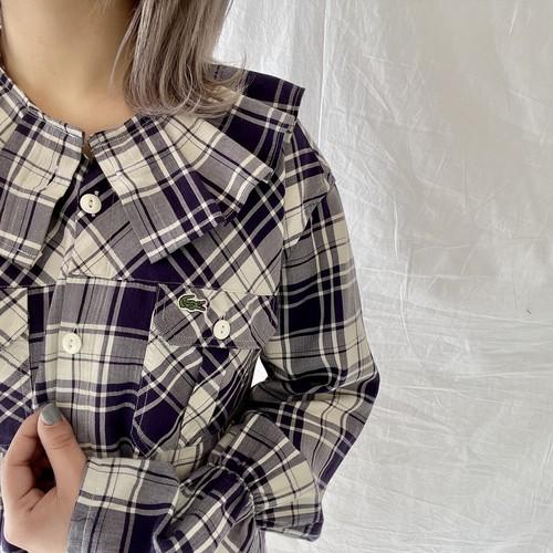 Lacosteリメイクシャツ (imy)