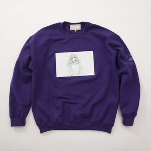 FUSEMACO CREWNECK SWEAT - PURPLE