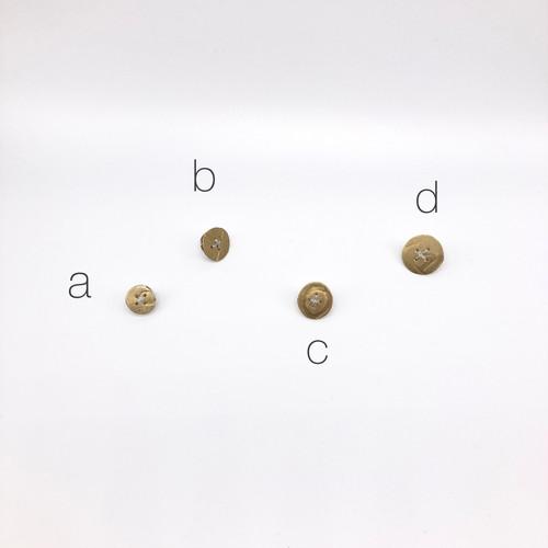 button pin / brass