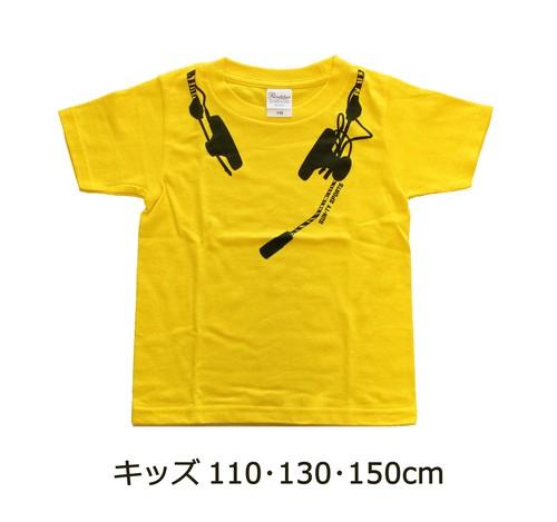 ボックス席展 Tシャツ<虎柄ヘッドセット> キッズサイズ