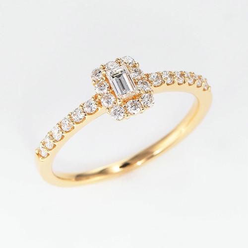 Sweet K18 Diamond Ring (ダイヤモンド リング)
