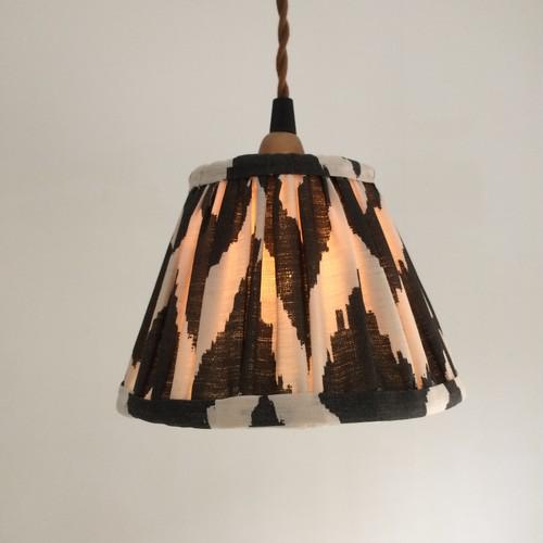 pendant lamp ikat black/white color