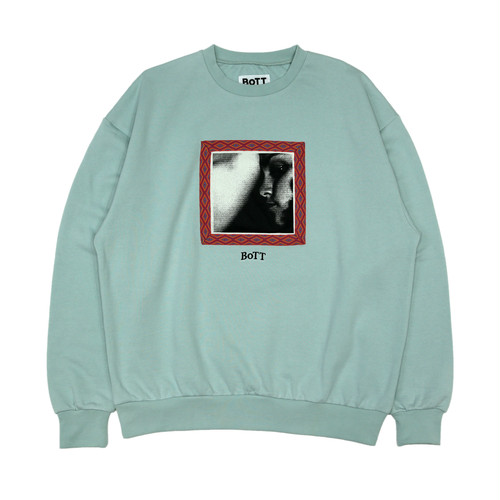 Taping Crew Neck(mint)