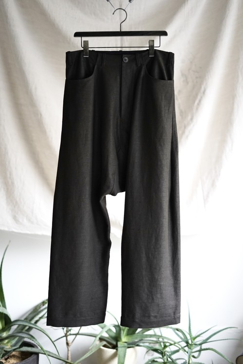 JAN JAN VAN ESSCHE - OVERSIZE FIT, DENIM STYLE TROUSERS (ZAKURO)