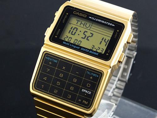 カシオ CASIO データバンク DATA BANK 腕時計 DBC611G-1 液晶