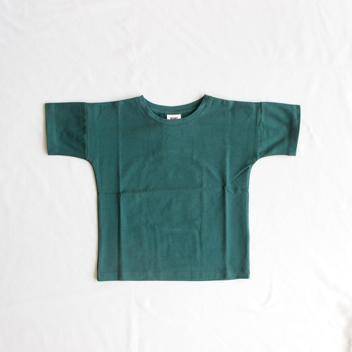 《WAWA 2018SS》Simple tee / bottle green