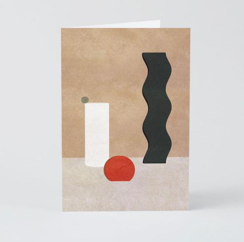 WRAP / STILL LIFE -ART CARD -Artwork by Charlotte Taylor- アートカード