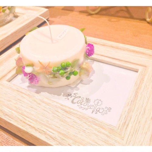 Flower Ring Candle♡