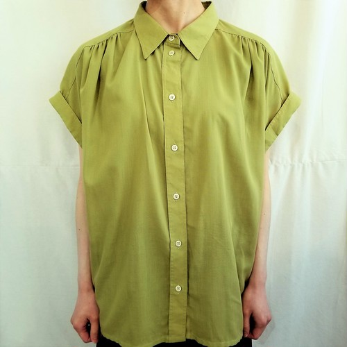 tru  French sleeves blouse [G-677]