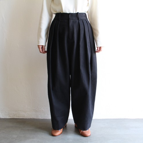 TENNE HANDCRAFTED MODERN 【 womens 】3 tuck wide pants