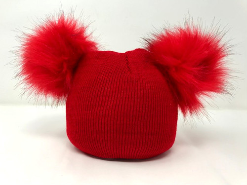 RIMI&Co. SELECT KID'S ファー付きニット帽 ニットキャップ 6Color