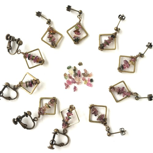 SOLD OUT*Tourmaline【ピアス/イヤリング】