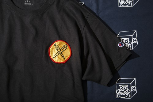 CROSS JOINT PATCH TEE