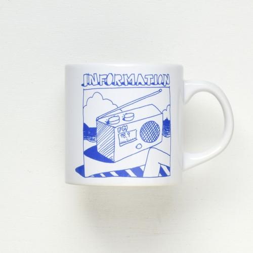 SHONAN BEACH FM × holiday 789TO YOUマグカップ_WHITE