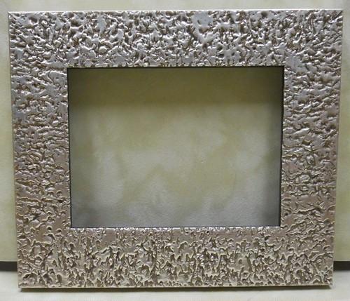 樹脂ミニ額シルバー2018 アクリル/裏板付/壁掛け用/卓上スタンドは付いておりません