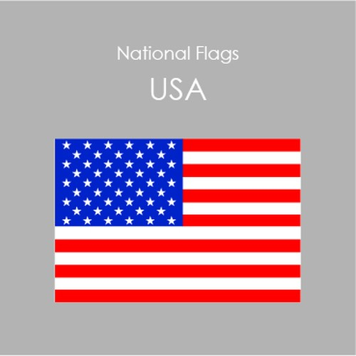 National Flags Sticker [U.S.A]