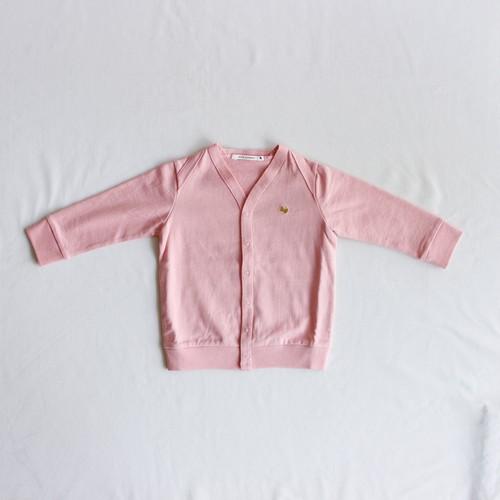 《mina perhonen 2018AW》zutto カーディガン / pink / 110-130cm
