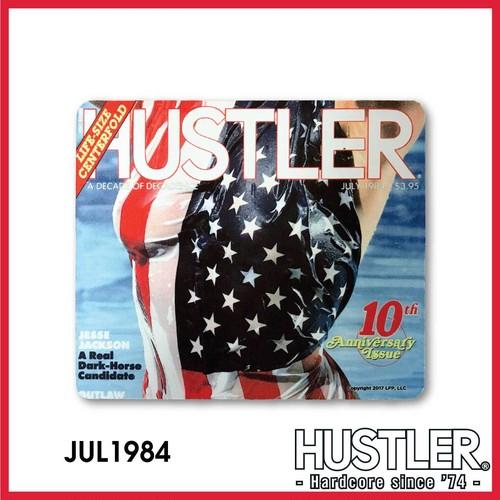 HUSTLER© MOUSE PAD(ハスラー・マウスパッド) / JULY 1984 カバー