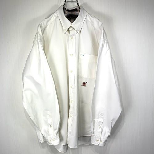 【TOMMY HILFIGER】 long-sleeved shirt