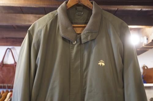 90's Brooks Brothers olive Jacket w/ adjustable liner