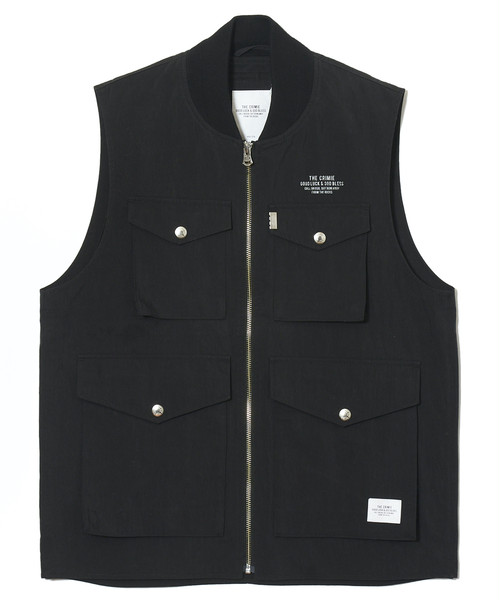 CRIMIE / CR1-02A1-JK05 / URBAN MILITARY VEST