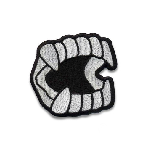 "Creepy Co""GLOW IN THE DARK CHOMPERS™ PATCH"""