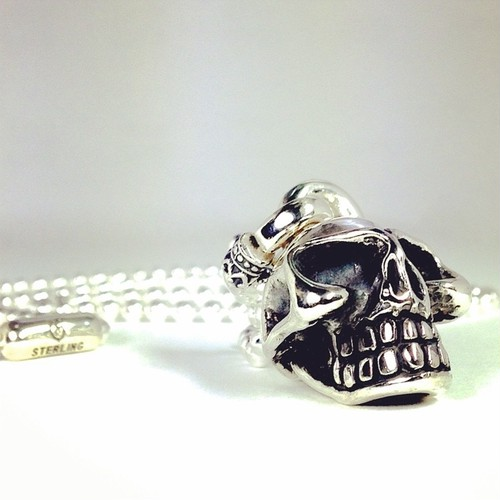 BALL CHAIN [SKULL] in collaboration with SUGIZO / スカル・スギゾーコラボレーション ボールチェーン付き