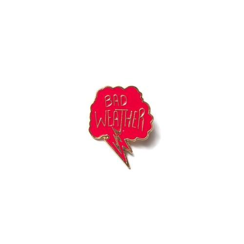 Bad Weather Pin(Magenta)