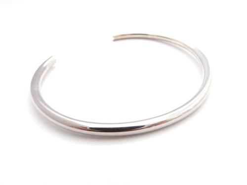 Silver925 バングル プレーン
