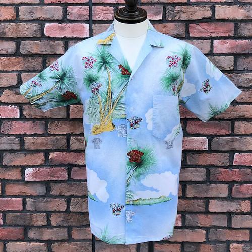 1950s Style Vintage Leisure Shirt Croggie Maxwell Medium