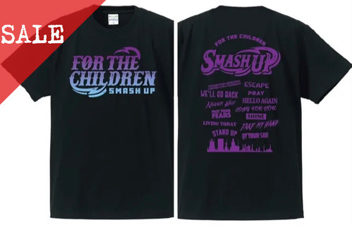 【SALE】FOR THE CHILDREN Tee (PURPLE)