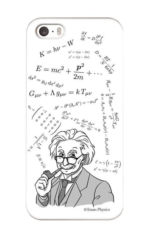 天才物理学者と数式 (iPhone5/5s/SE)