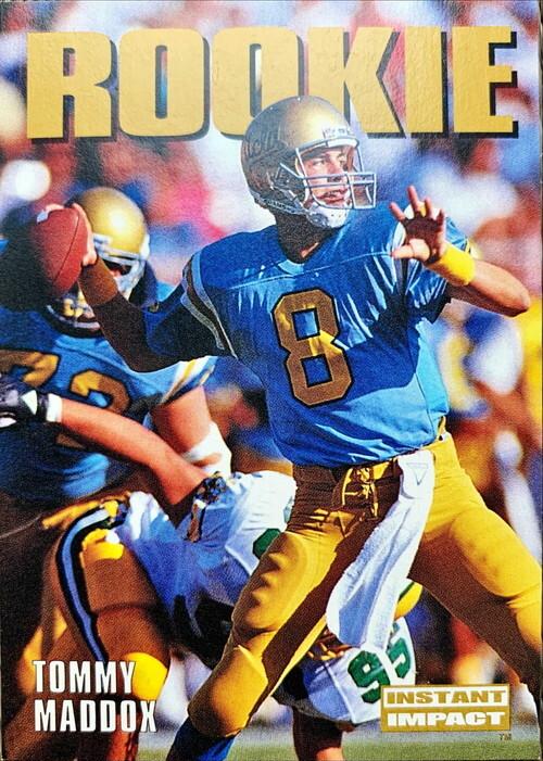 NFLカード 92SKYBOX TOMMY MADDOX #336 BRONCOS ROOKIEカード