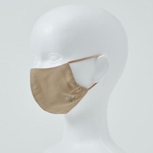 刺しゅうマスク〈カモミール〉