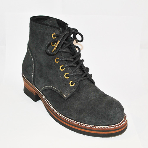 【High Line】MIDDLE BOOTS CALICO CHARCOAL SUEDE KE315CS
