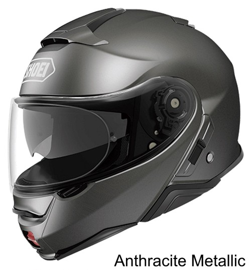 SHOEI NEOTEC II Anthracite Metallic