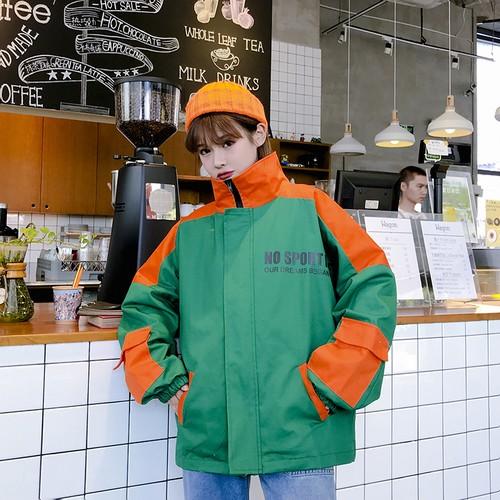 スポーティー メンズライク ストリート カジュアル ジャンパー【0134】