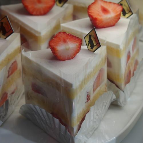 とちおとめのショートケーキ 1P【配送不可】【ネットショップ購入不可】